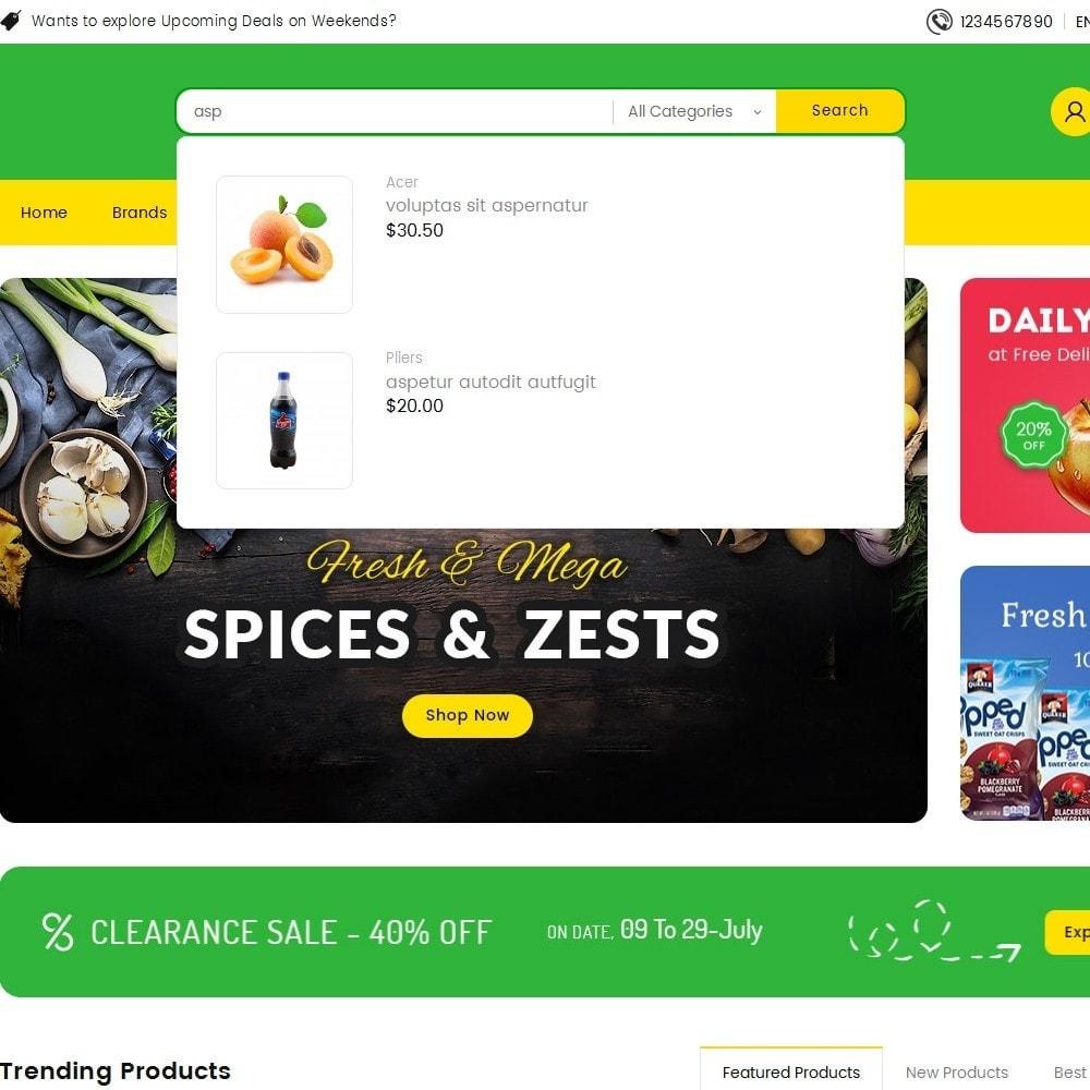 theme - Lebensmittel & Restaurants - Mega Trone Grocery - 11