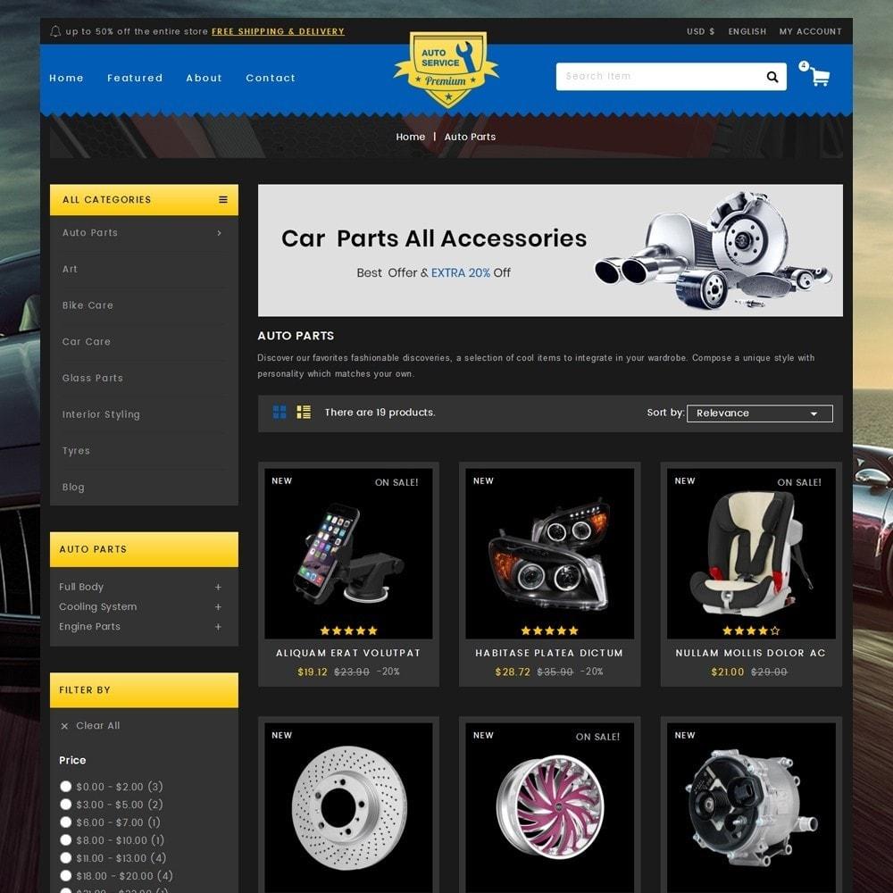Auto Service - Premium Store