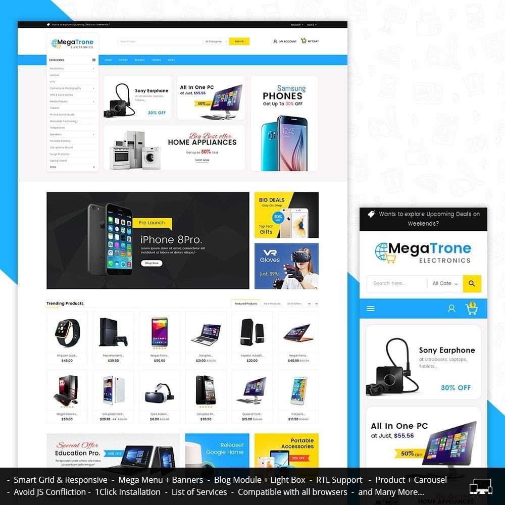 theme - Elettronica & High Tech - Mega Trone Electronics - 2