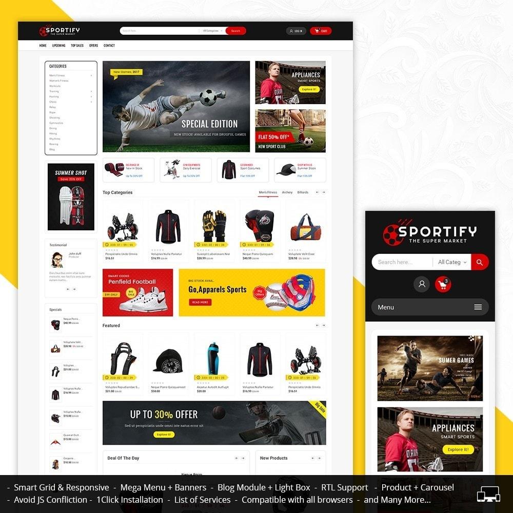 theme - Sport, Attività & Viaggi - Mega Shoppe Sports - 2