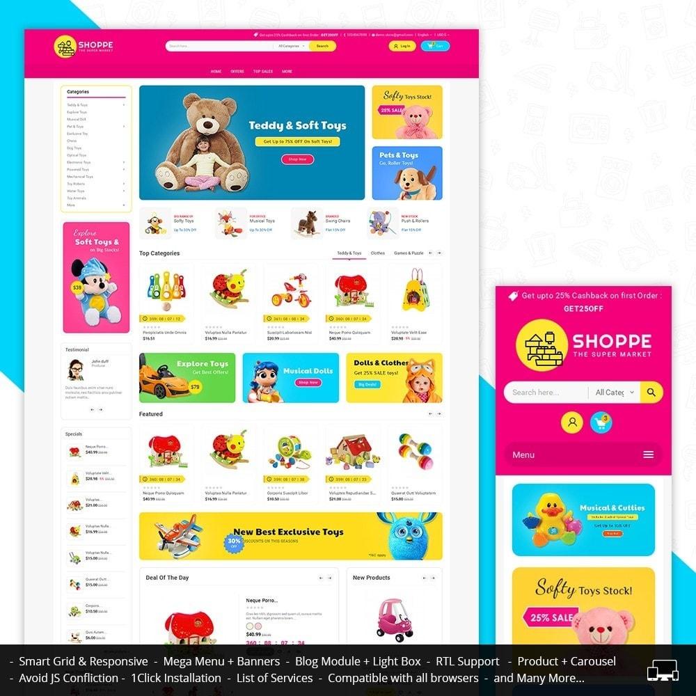 theme - Bambini & Giocattoli - Mega Shoppe Kid Toys - 2