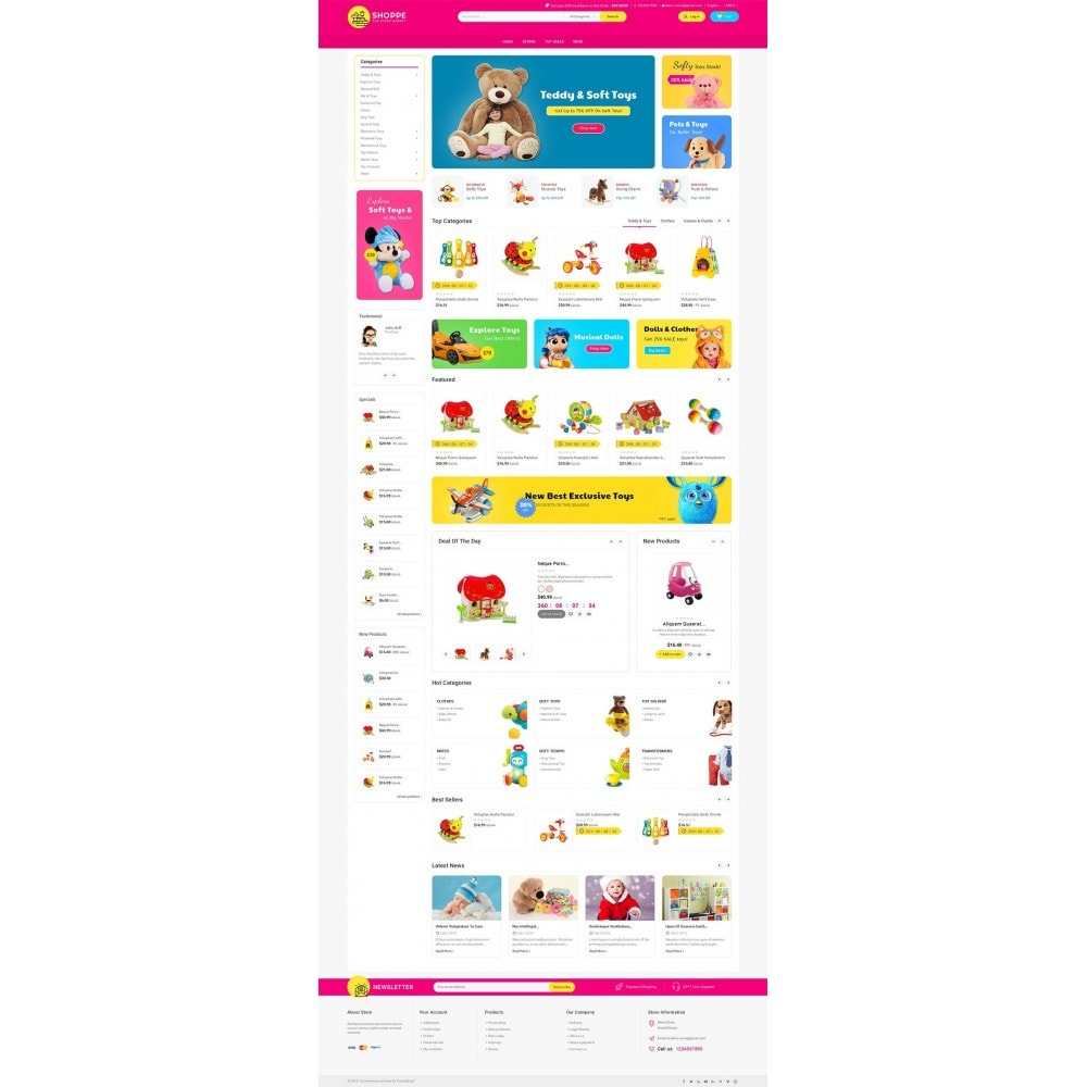 theme - Niños y Juguetes - Mega Shoppe Kid Toys - 3