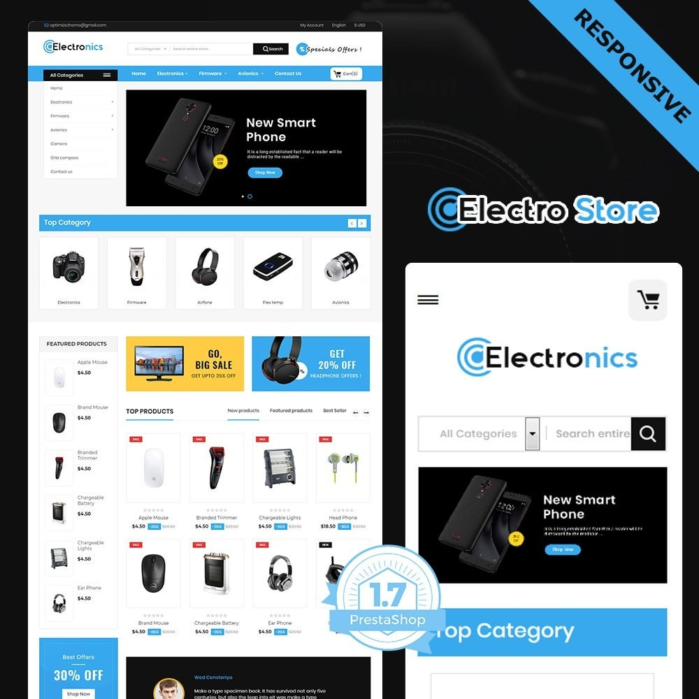 theme - Eletrônicos & High Tech - electronic store - 2