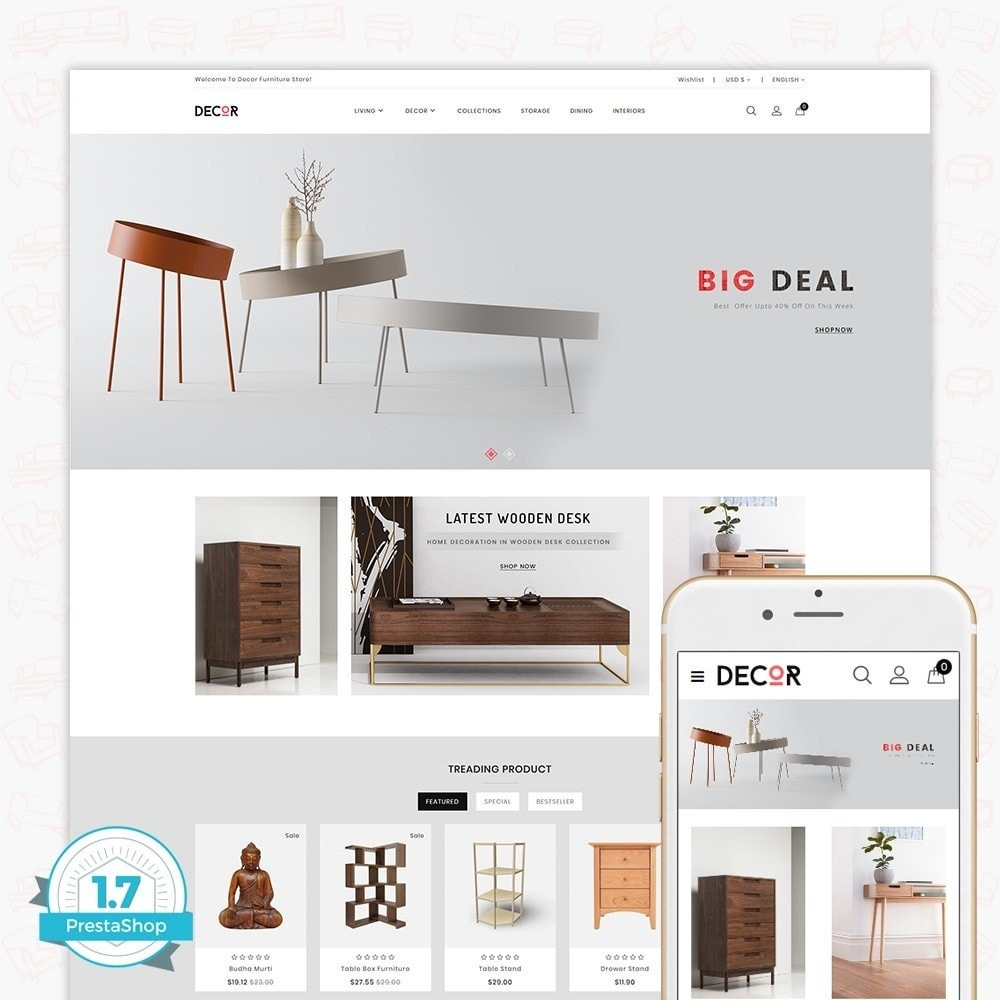 theme - Maison & Jardin - Decor -  The Furniture Store - 1
