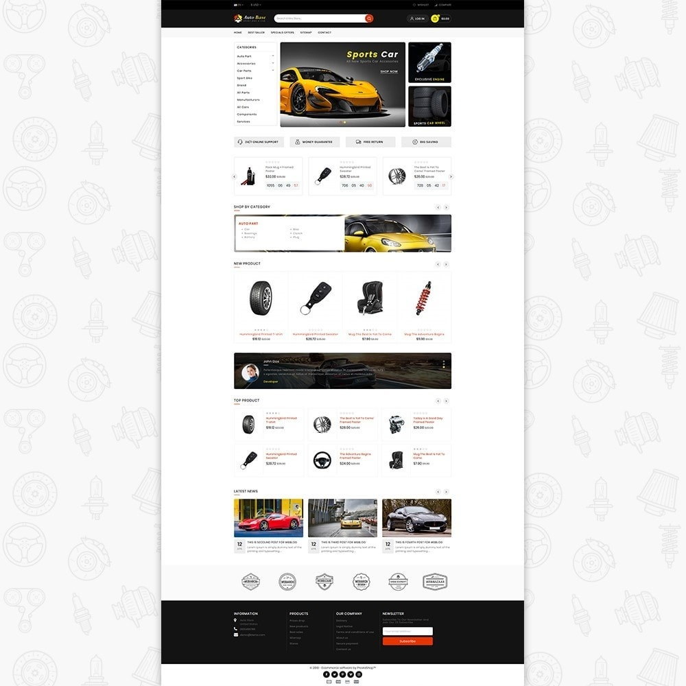 Autobase - Sport Bike & Car
