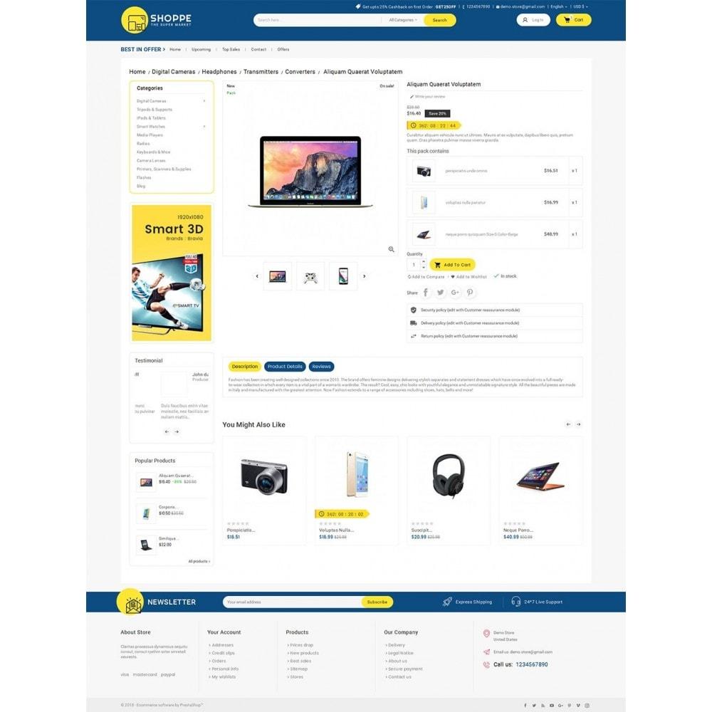theme - Electrónica e High Tech - Mega Shoppe Electronics - 6