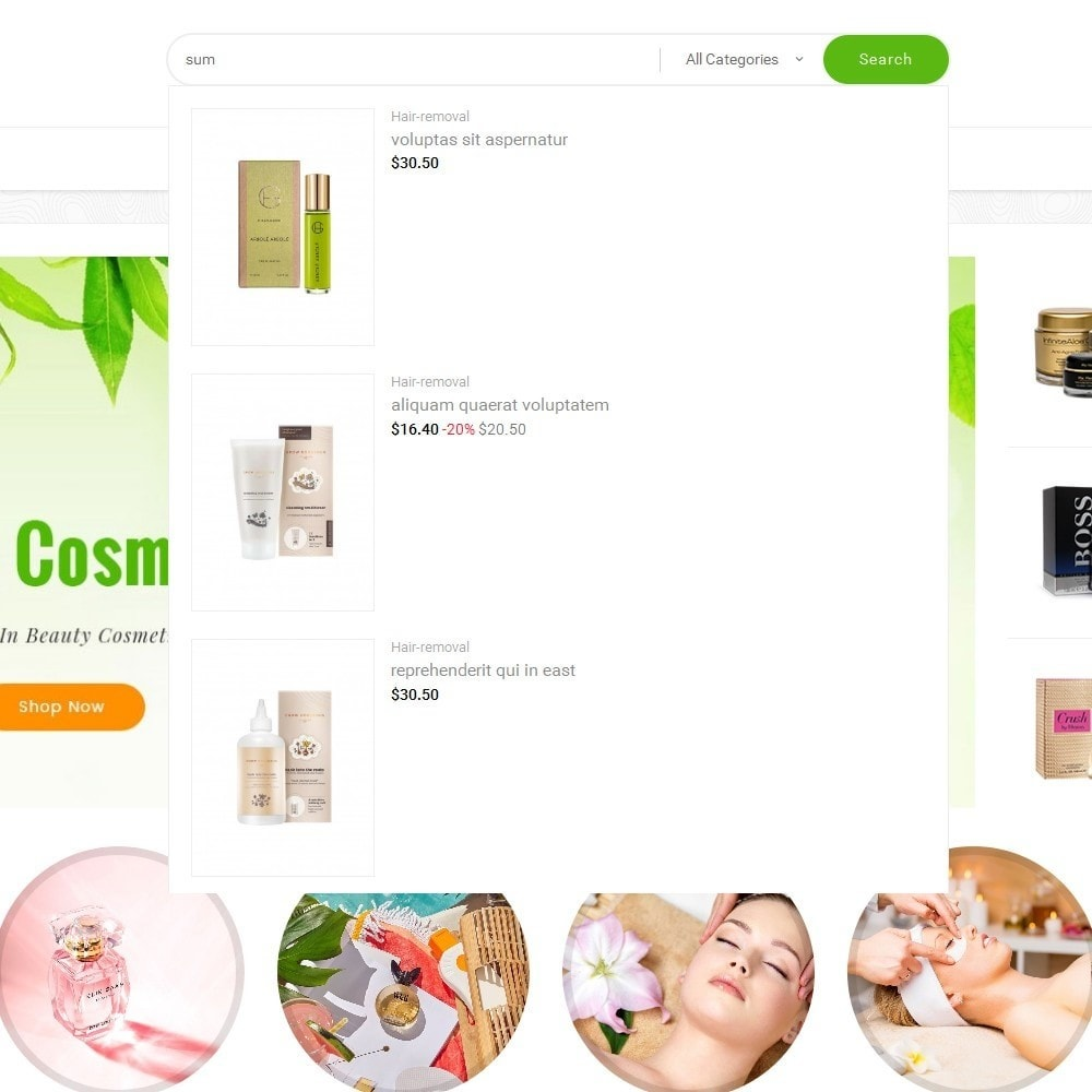 theme - Santé & Beauté - Mega Shoppe Bio Cosmetics - 11