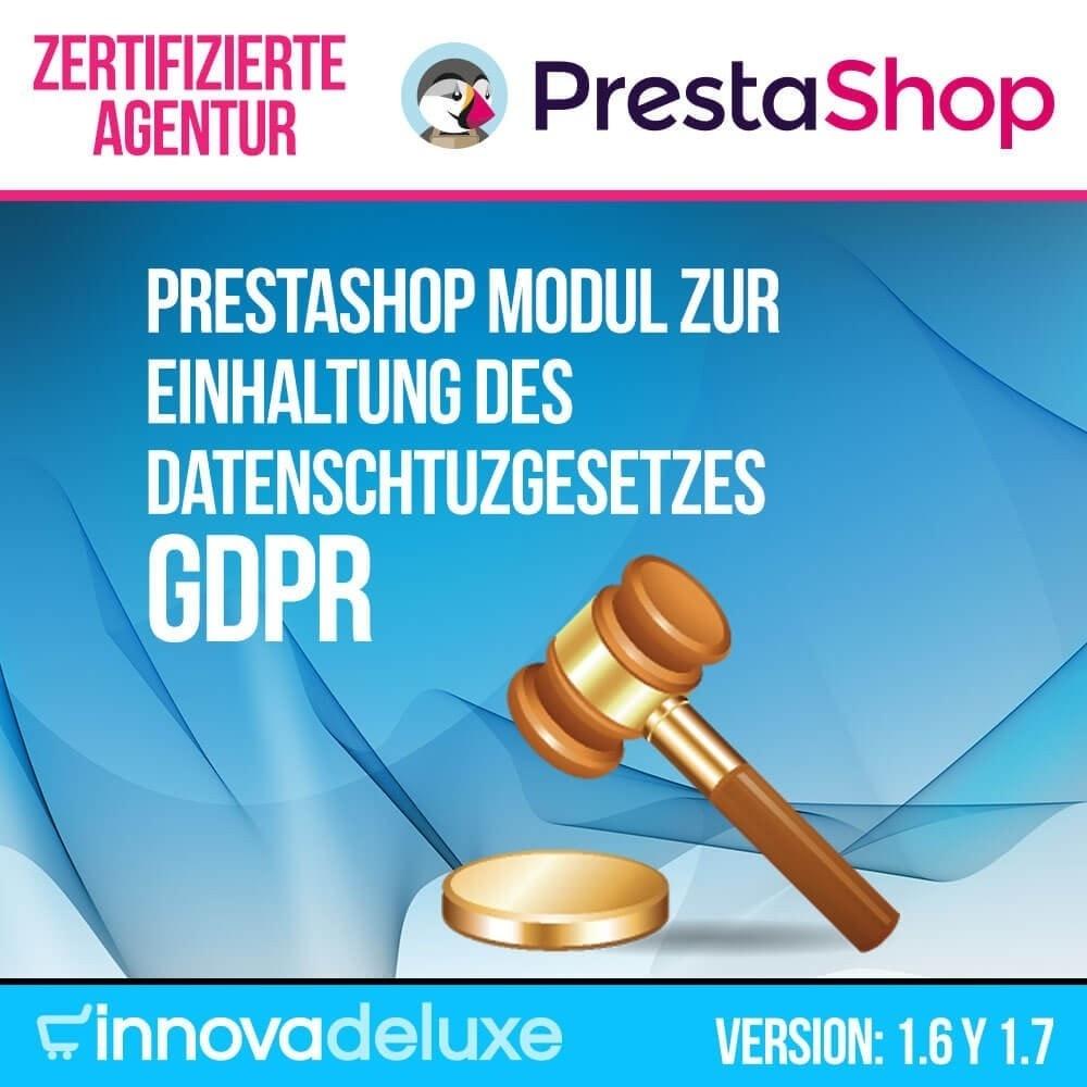 module - Rechtssicherheit - Einhaltung der Datenschutzgesetze - GDPR - 1
