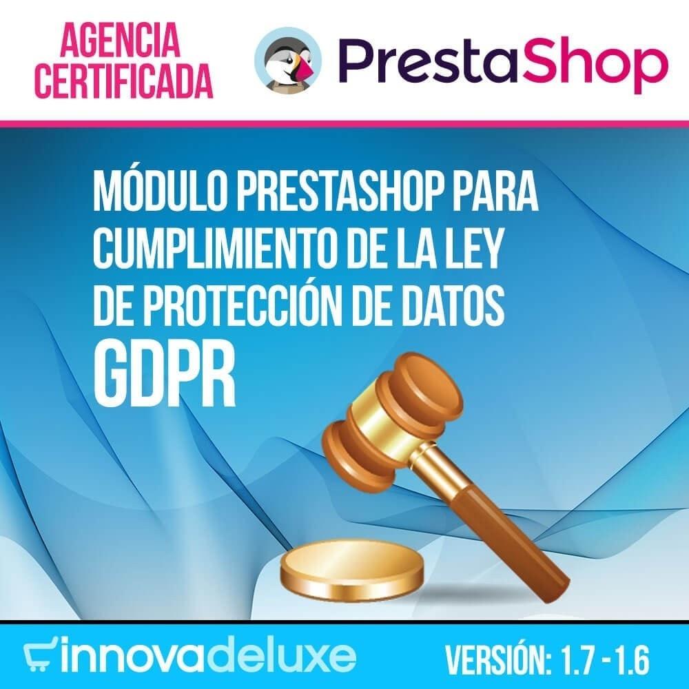 module - Marco Legal (Ley Europea) - Cumplimiento Ley de protección de datos - RGPD - 1