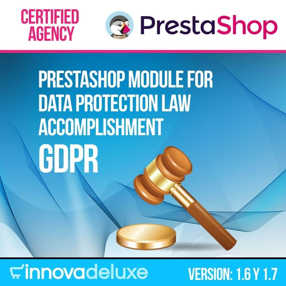 module - Legal - Data privacy extended (data protection law) - GDPR - 1