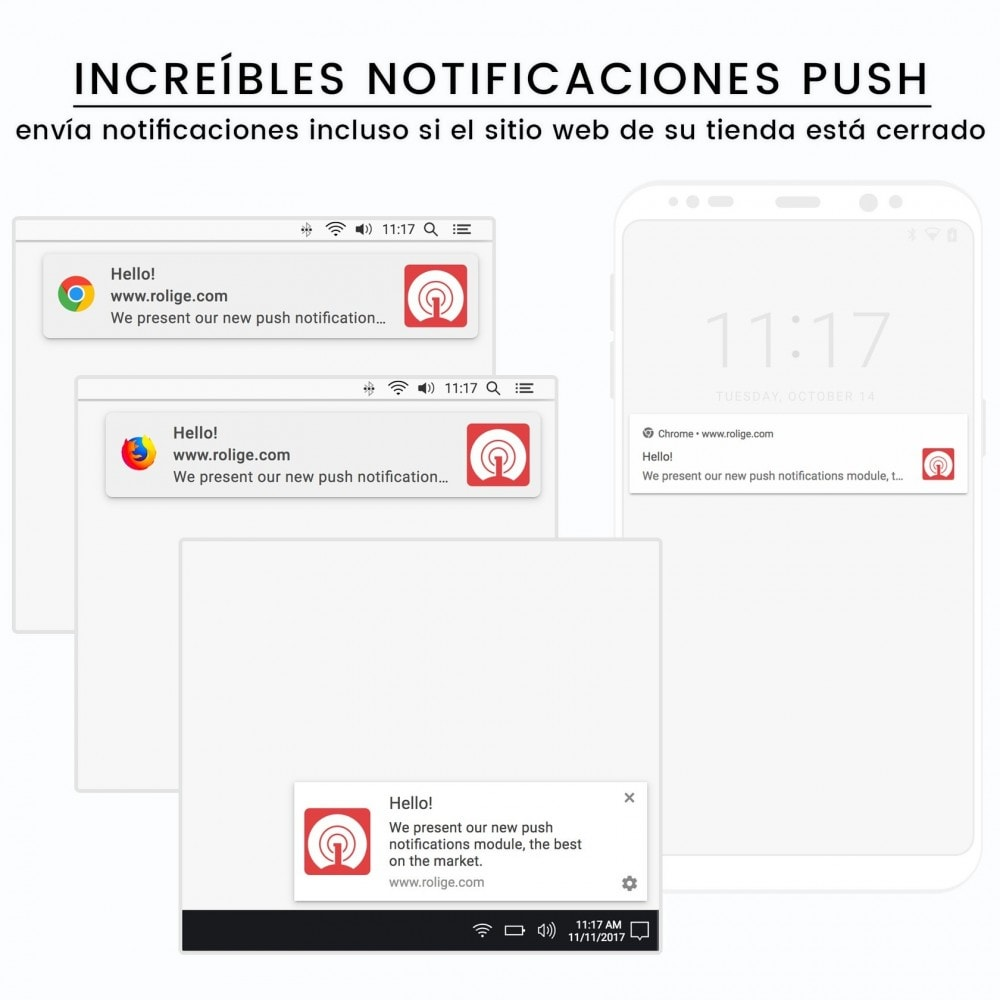module - Remarketing y Carritos abandonados - Notificaciones Push del Navegador Web usando OneSignal - 2