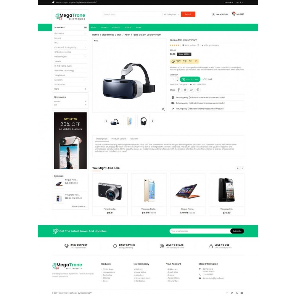 theme - Elettronica & High Tech - Mega Shop Electronics - 6
