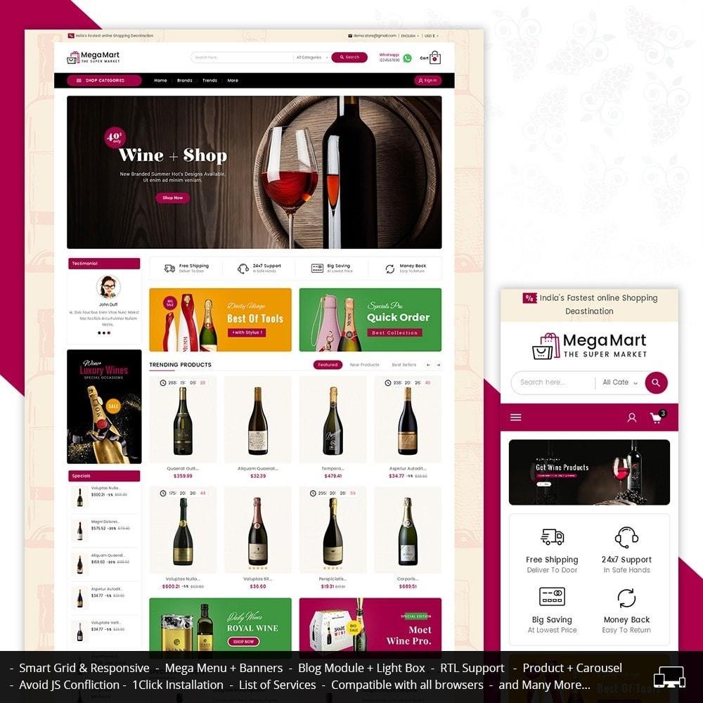 theme - Bebidas y Tabaco - Mega Mart Wine & Tobacco - 2