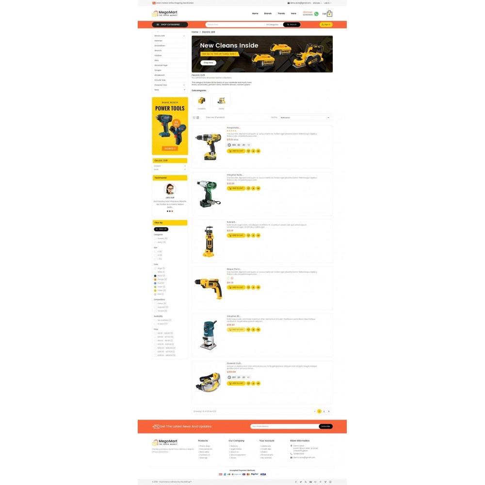 theme - Electrónica e High Tech - Mega Mart Tools Equipment - 5