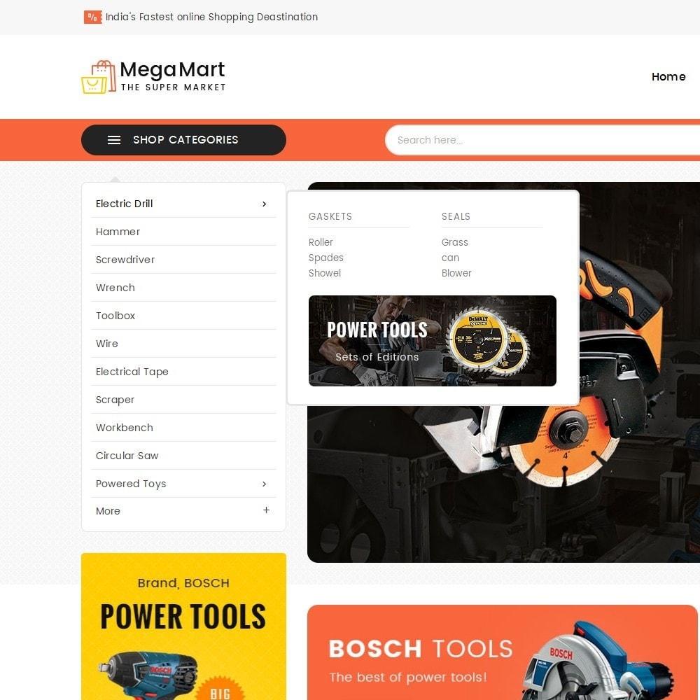 theme - Electrónica e High Tech - Mega Mart Tools Equipment - 10