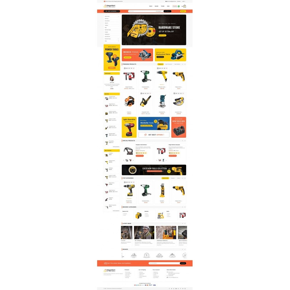 theme - Elektronik & High Tech - Mega Mart Tools Equipment - 3