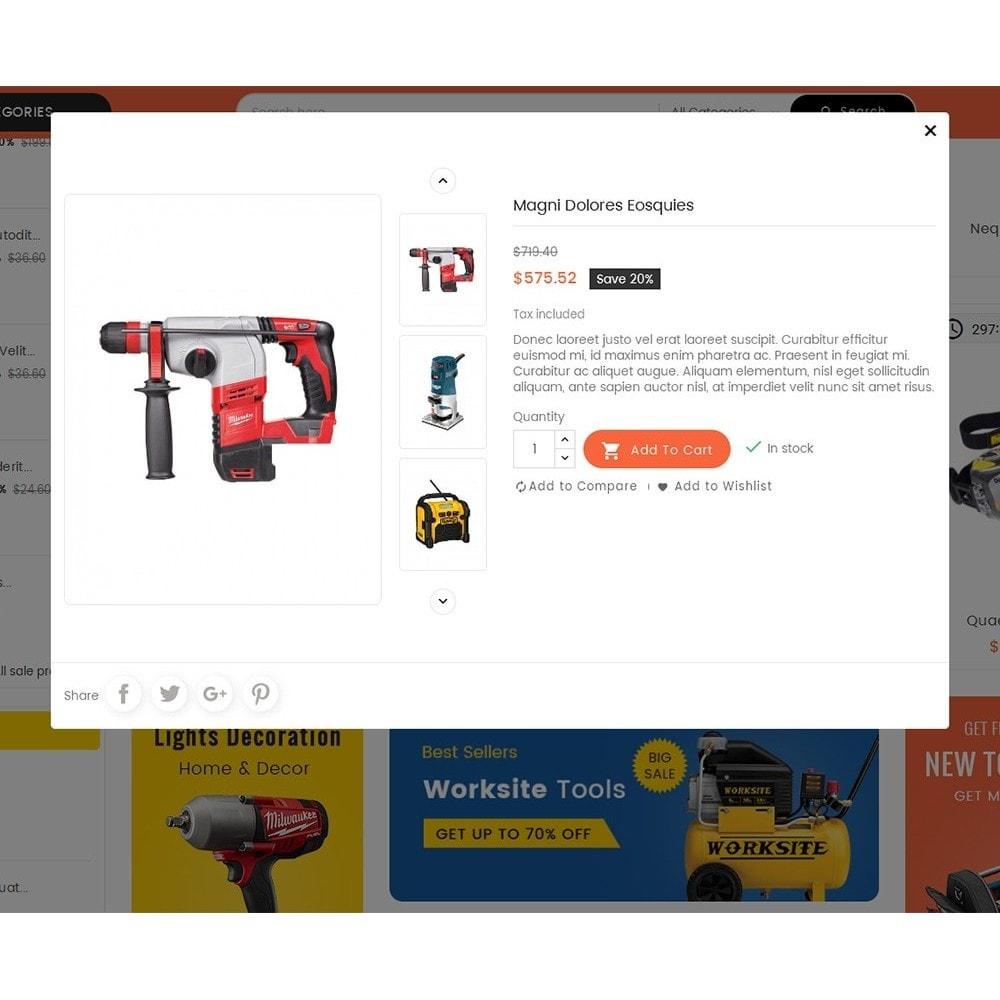 theme - Elettronica & High Tech - Mega Mart Tools Equipment - 9