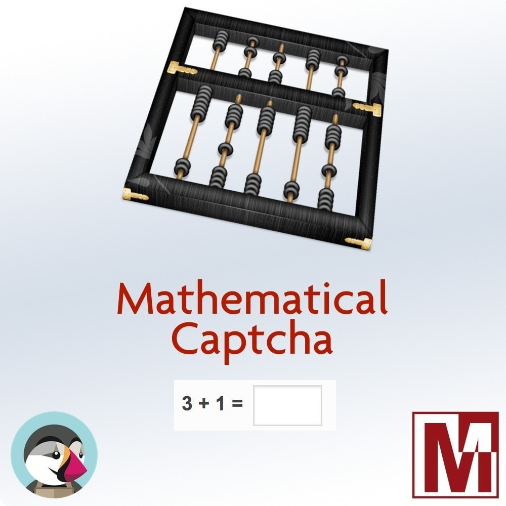 module - Veiligheid & Toegang - Mathematical Captcha, the best security solution - 1