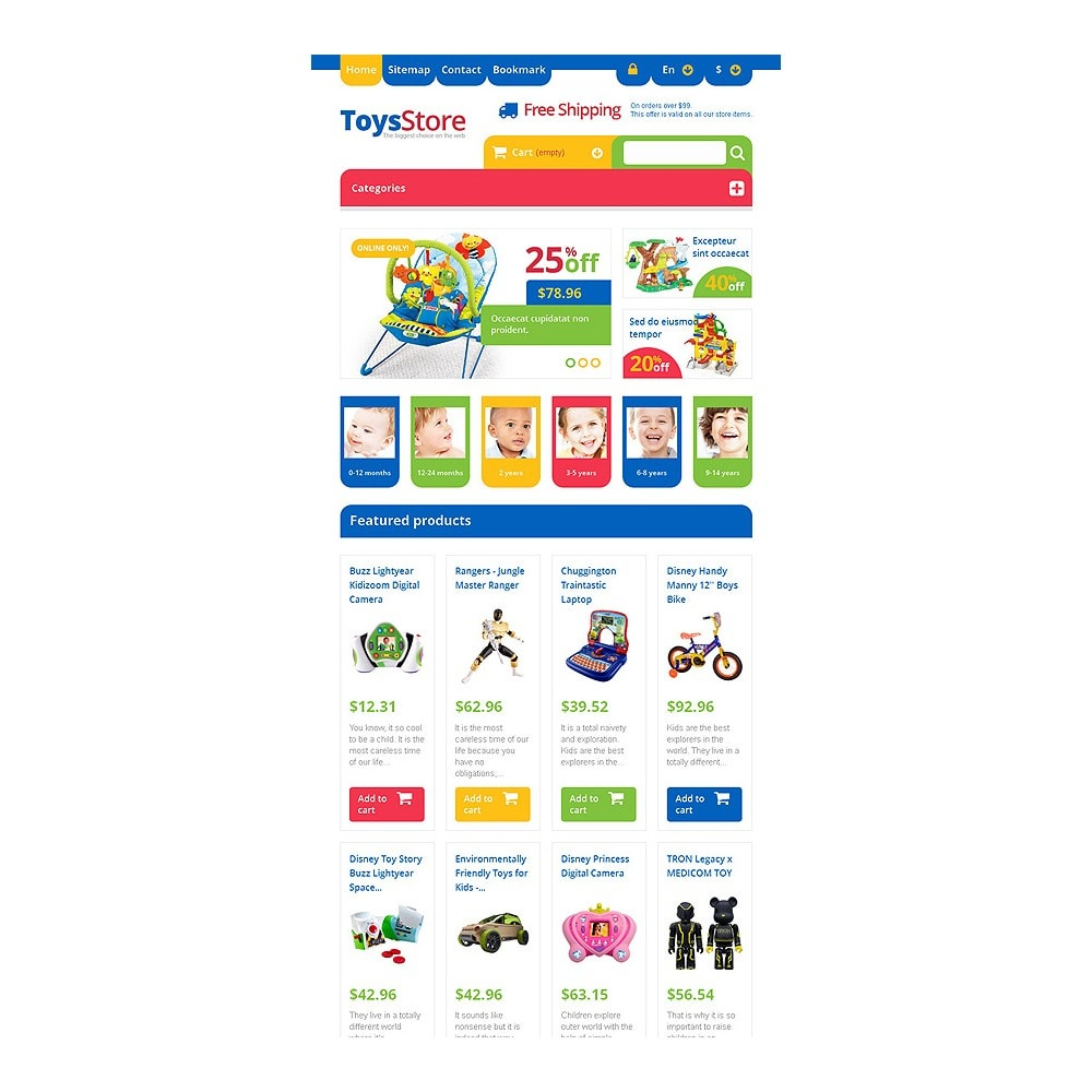 theme - Crianças & Brinquedos - Responsive Toys Store - 7