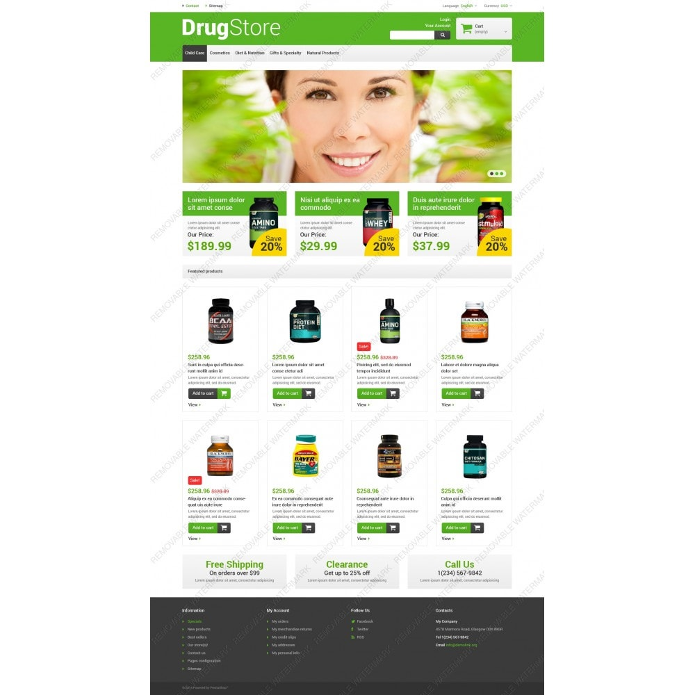 theme - Salud y Belleza - Reliable Drugstore - 5