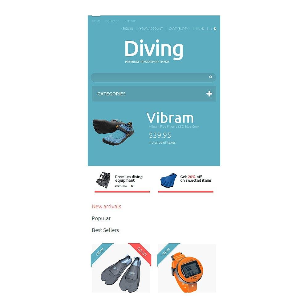 theme - Спорт и Путешествия - Diving Shop - 8