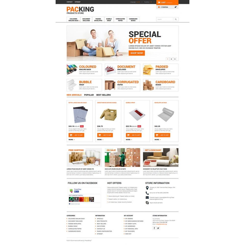 theme - Dom & Ogród - Excellent Packing Services - 2