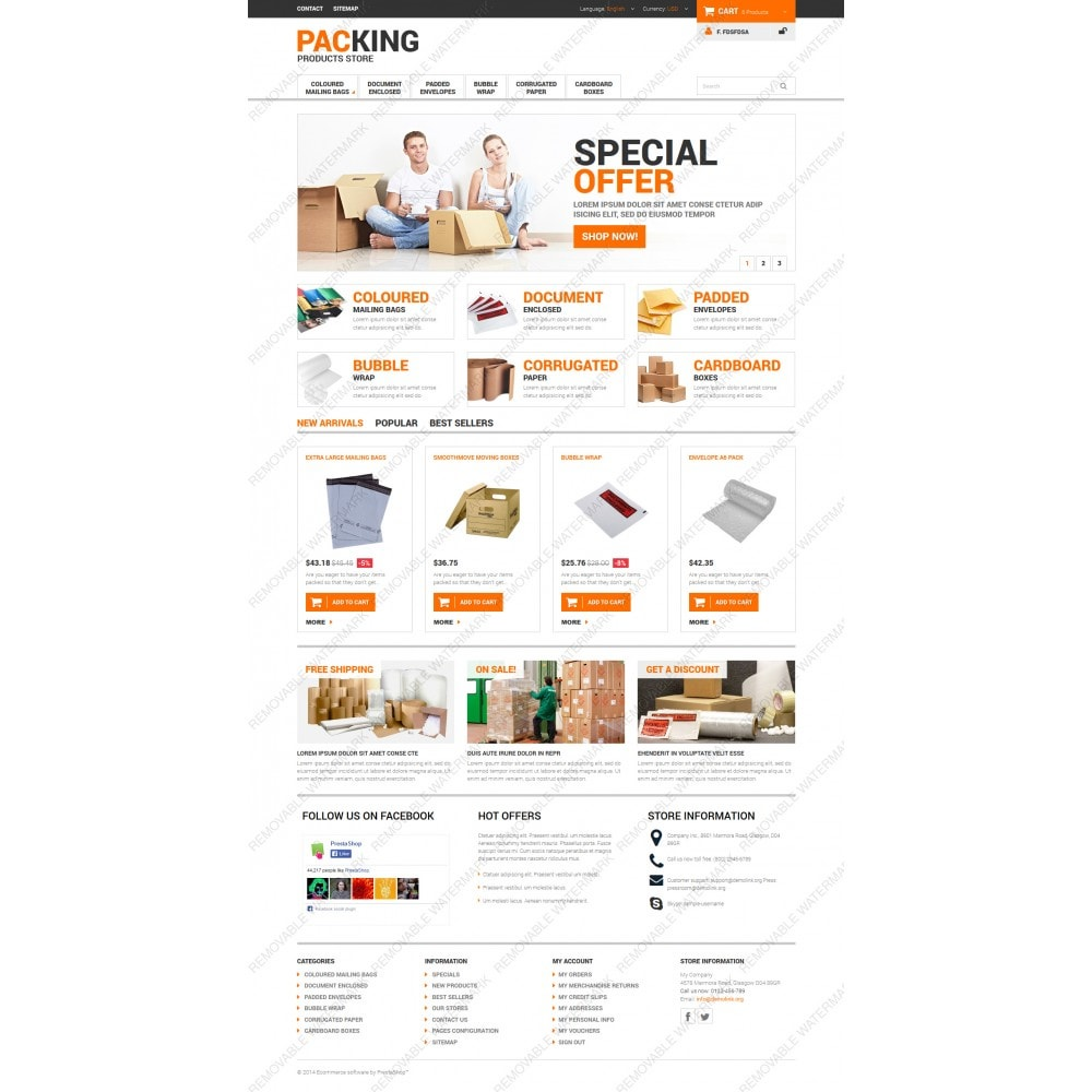 theme - Dom & Ogród - Excellent Packing Services - 3