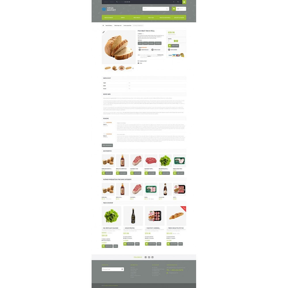 theme - Eten & Restaurant - Food Shop - 6
