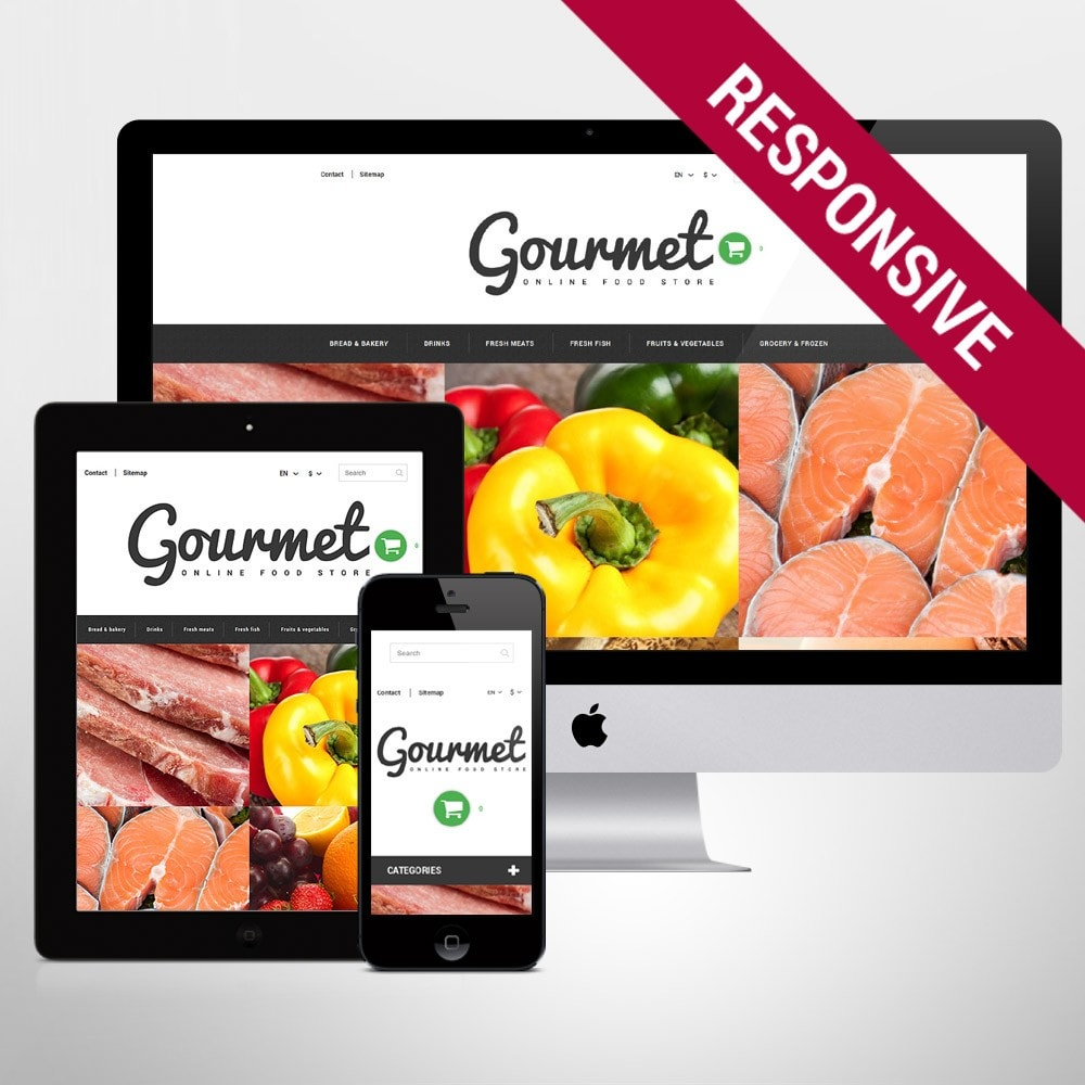 Magasin d'alimentation