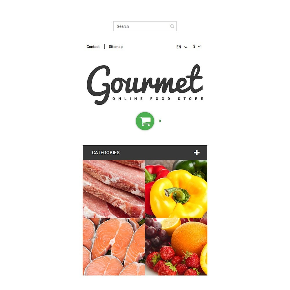 theme - Alimentation & Restauration - Magasin d'alimentation - 9