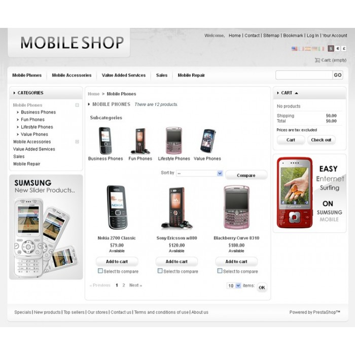 theme - High Tech - Mobile Prestashop Theme - PRS030053 - 3