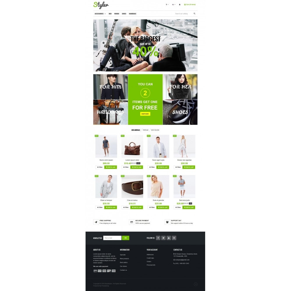 theme - Mode & Chaussures - VP_Styler Store - 2