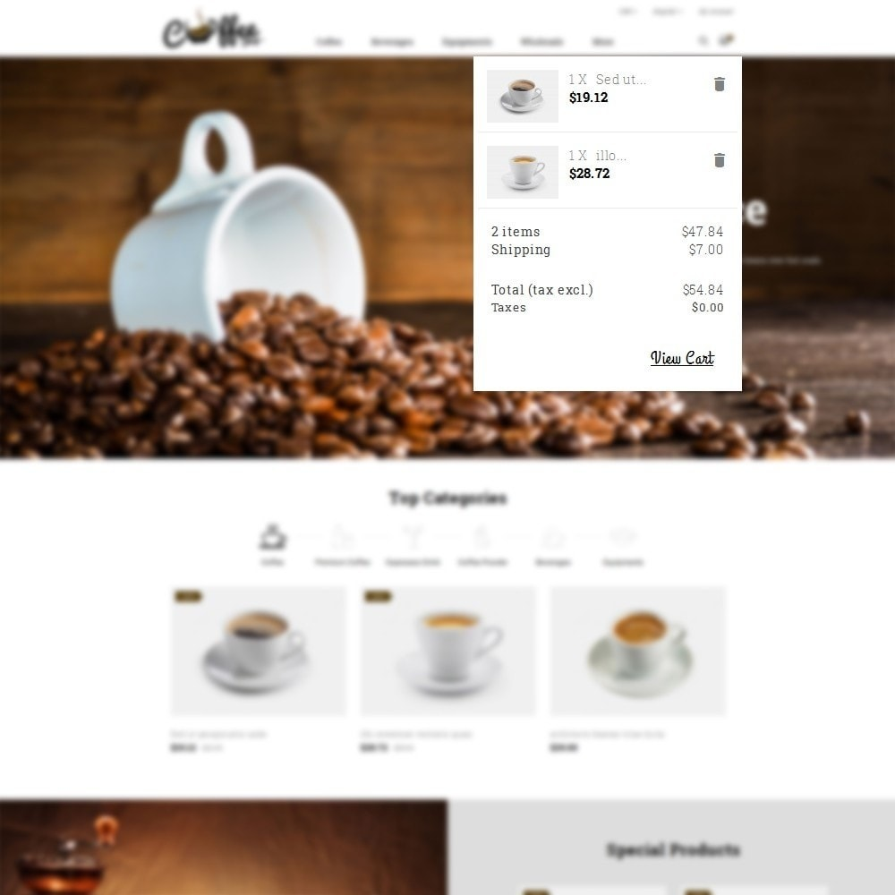 theme - Bebidas & Tabaco - Coffee Shop - 8