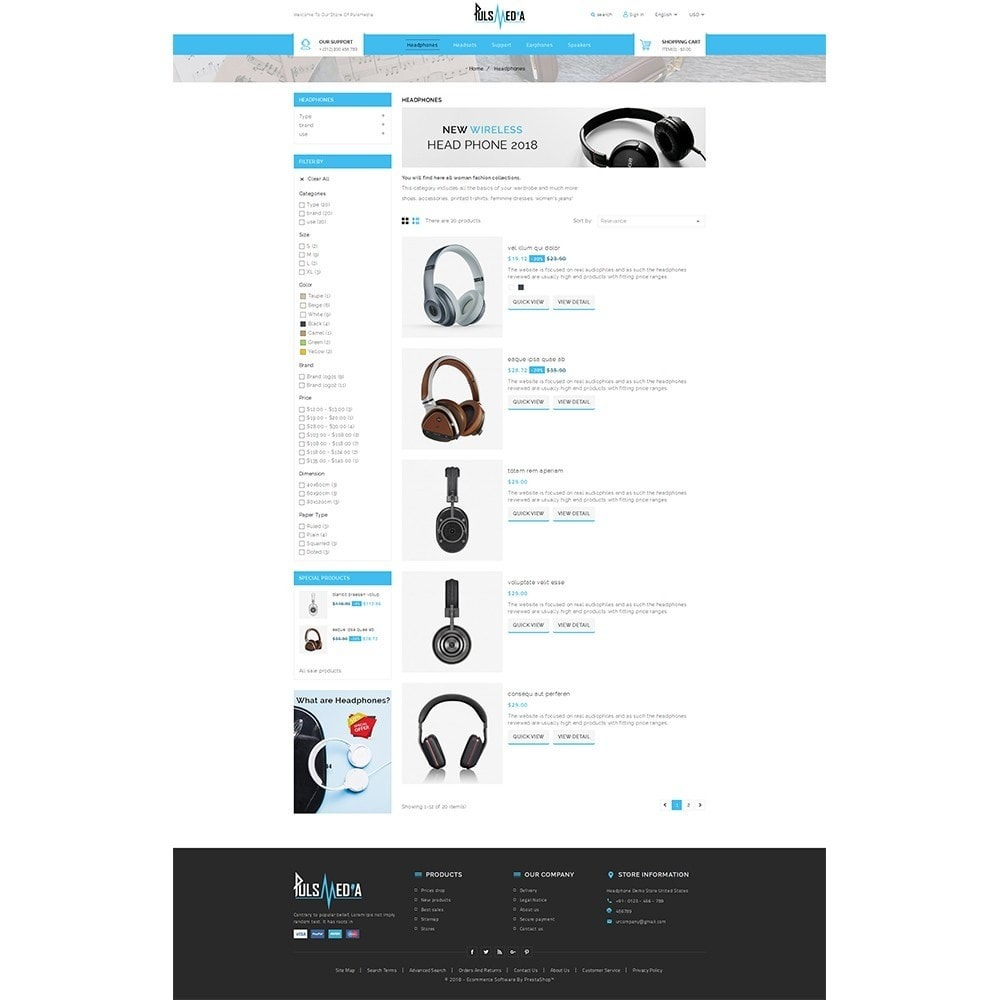 theme - Elettronica & High Tech - Puls Media Store - 4