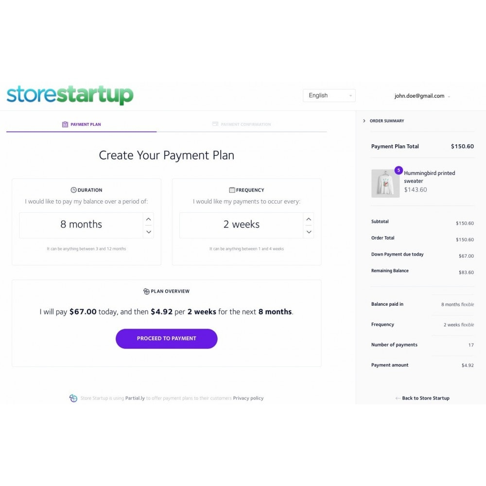 module - Other Payment Methods - Partial.ly payment plans - 1