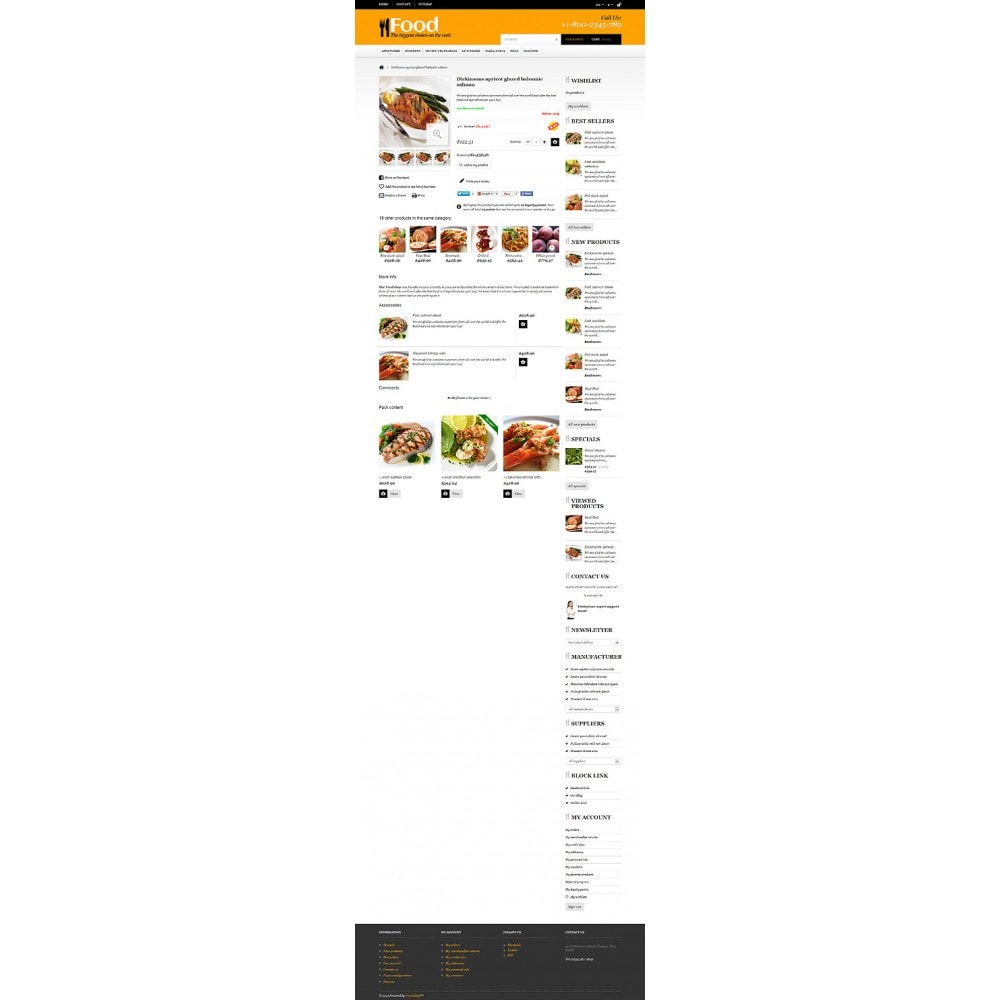 theme - Lebensmittel & Restaurants - Online Orders of Meals - 6