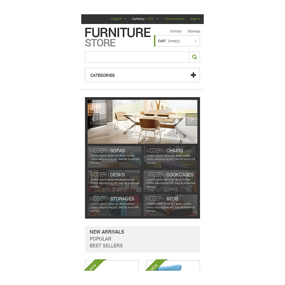 theme - Art & Culture - Interior  Furniture Store - 8
