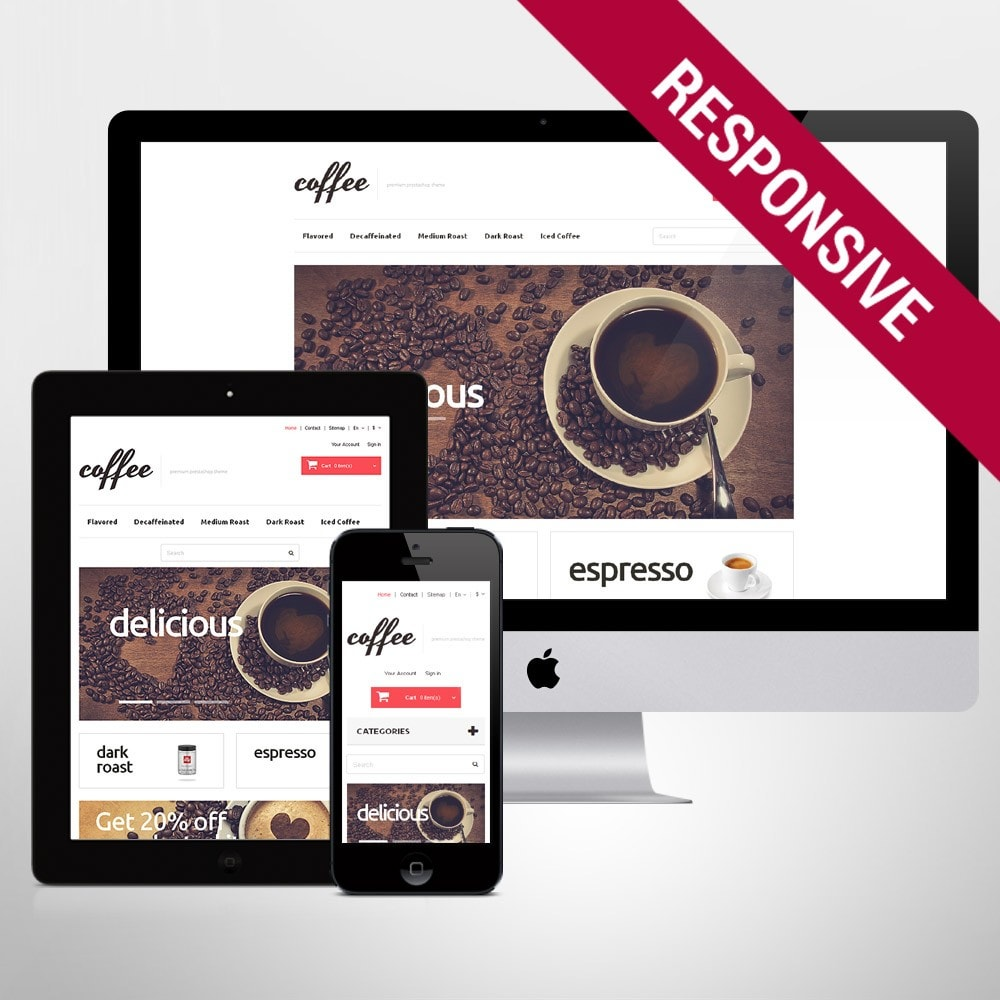 theme - Food & Restaurant - Coffee Maniacs - 1