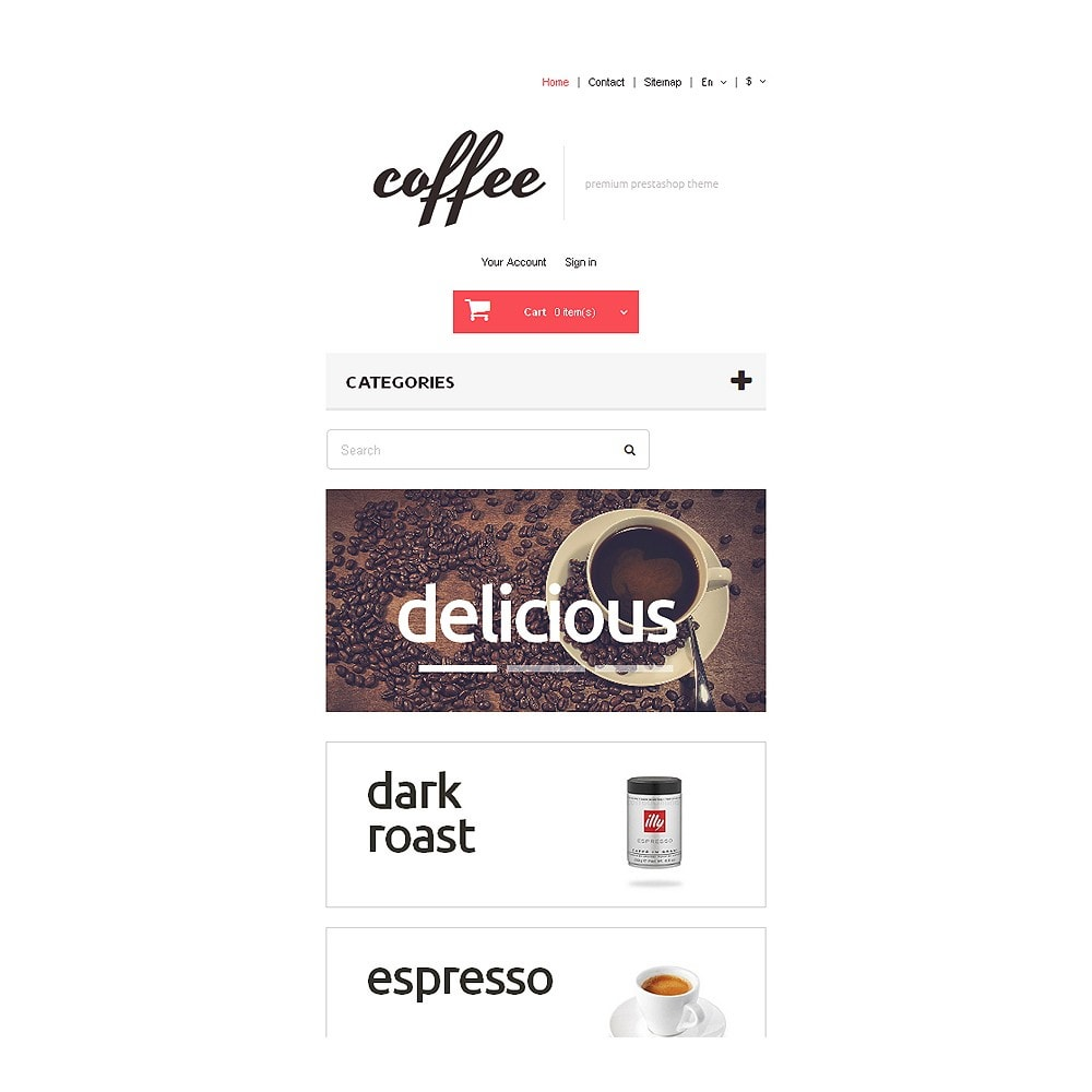 theme - Alimentation & Restauration - Coffee Maniacs - 8
