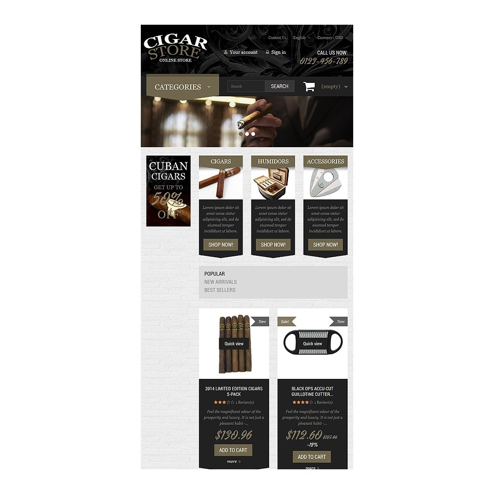 theme - Heim & Garten - Cigar Smoking Diversion - 7