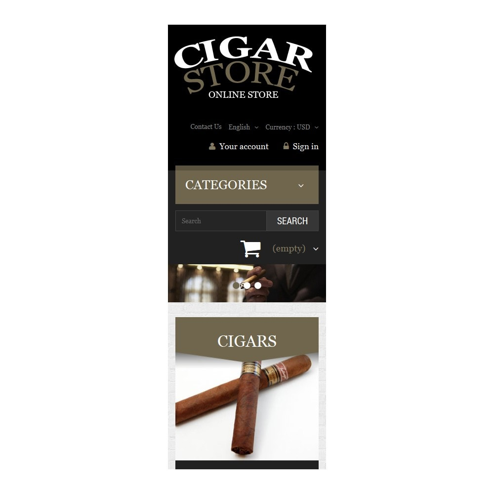 theme - Dom & Ogród - Cigar Smoking Diversion - 9