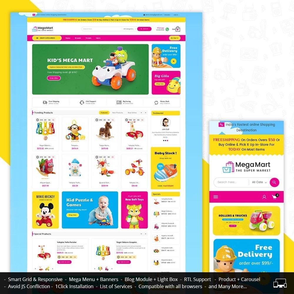 theme - Niños y Juguetes - Mega Mart Kids Toys - 2