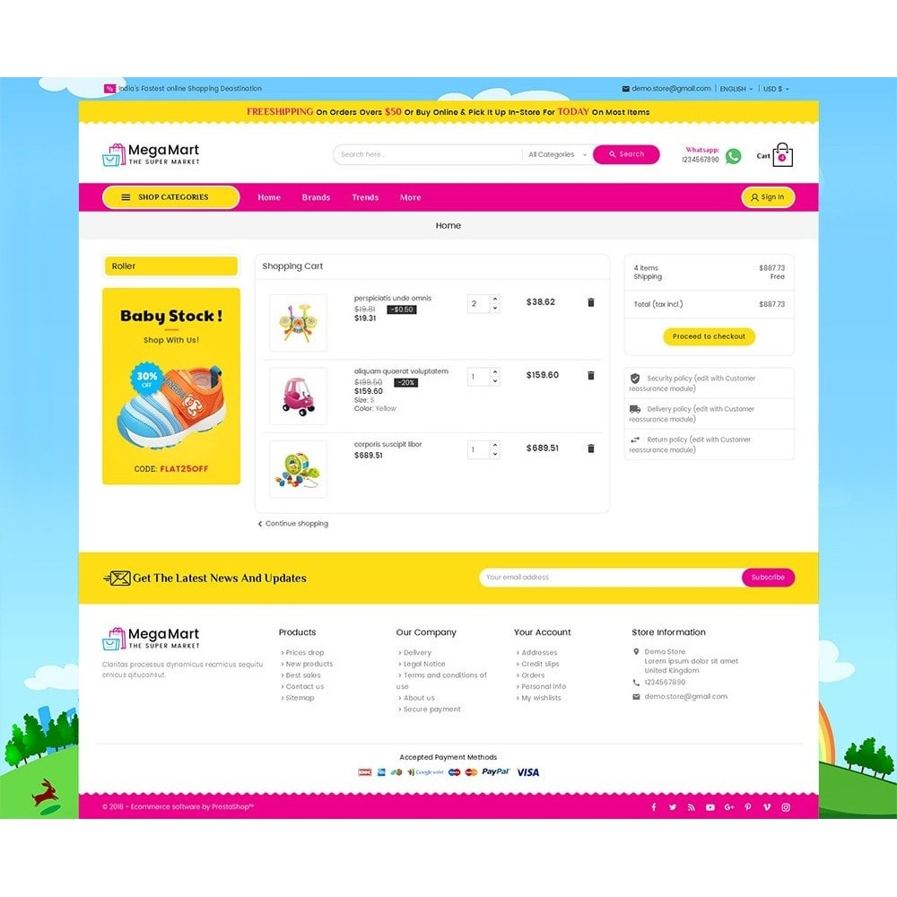 theme - Niños y Juguetes - Mega Mart Kids Toys - 7
