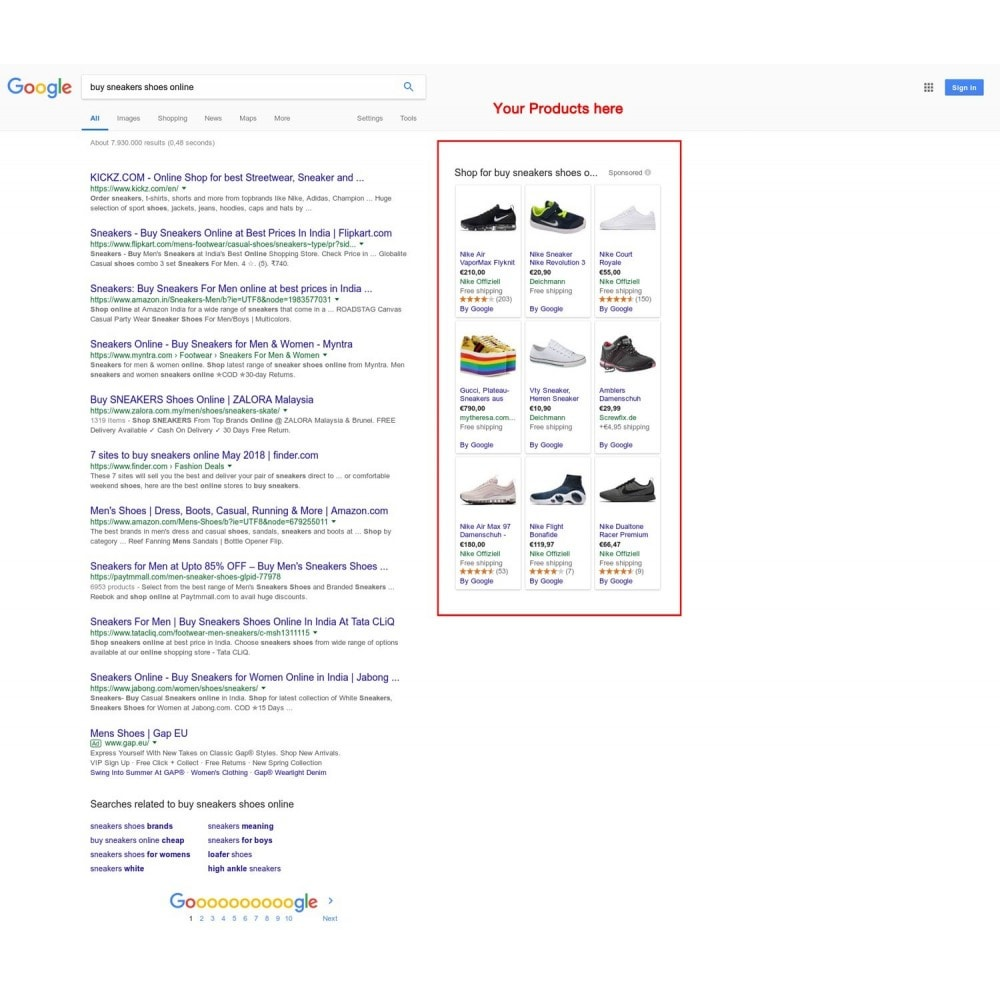 module - Comparateurs de prix - Google Shopping Feed in 3 min (Google Merchant Center) - 2