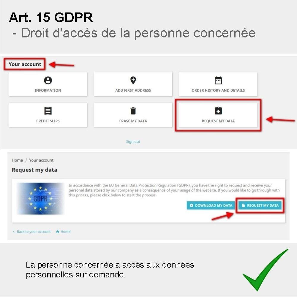 module - Législation - GDPR Compliance Pro - 2020 Édition améliorée - 5