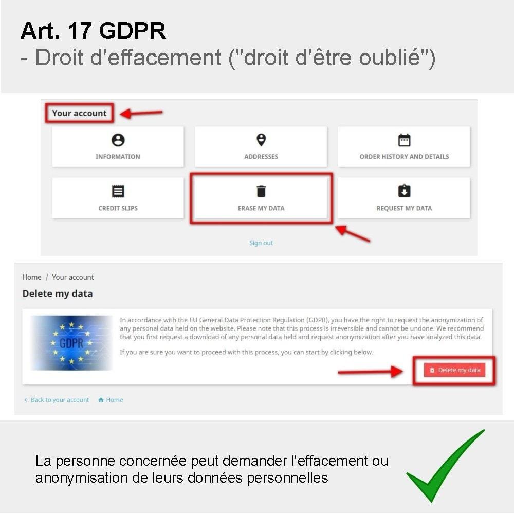 module - Législation - GDPR Compliance Pro - 2020 Édition améliorée - 6