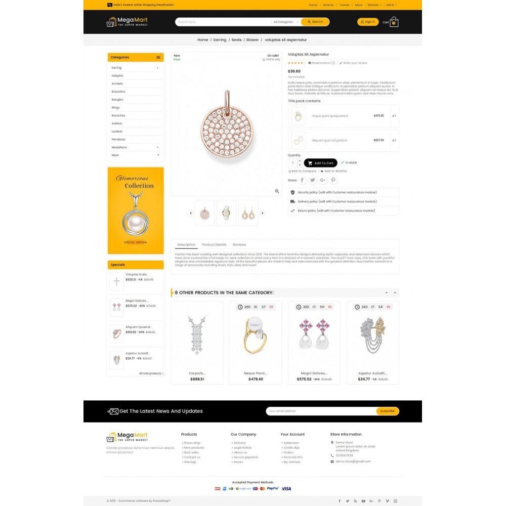 theme - Bijoux & Accessoires - Mega Mart Jewelry Imitation - 6