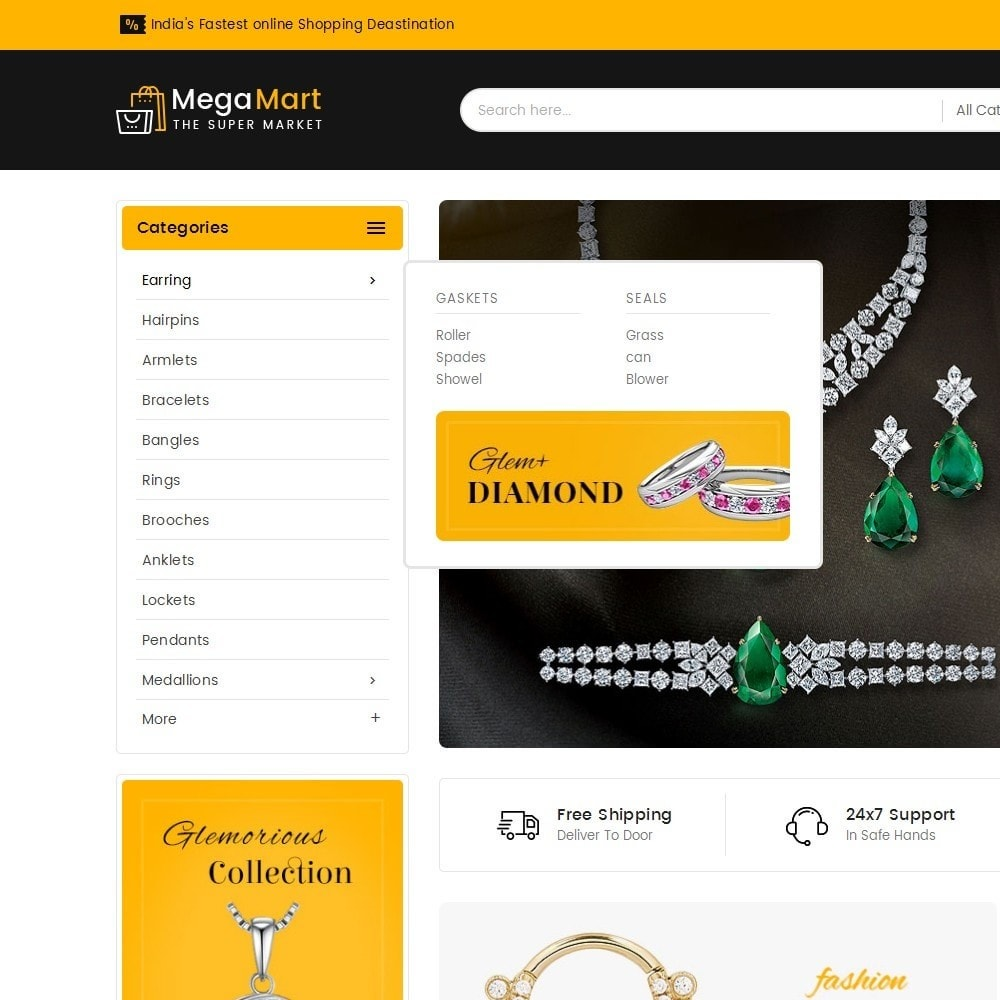 theme - Schmuck & Accesoires - Mega Mart Jewelry Imitation - 10