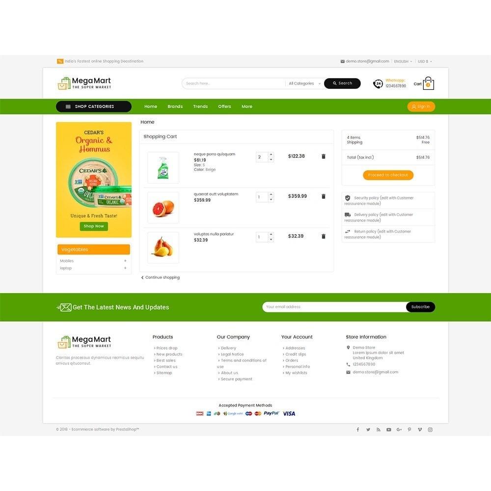theme - Alimentation & Restauration - Mega Mart Grocery - 7