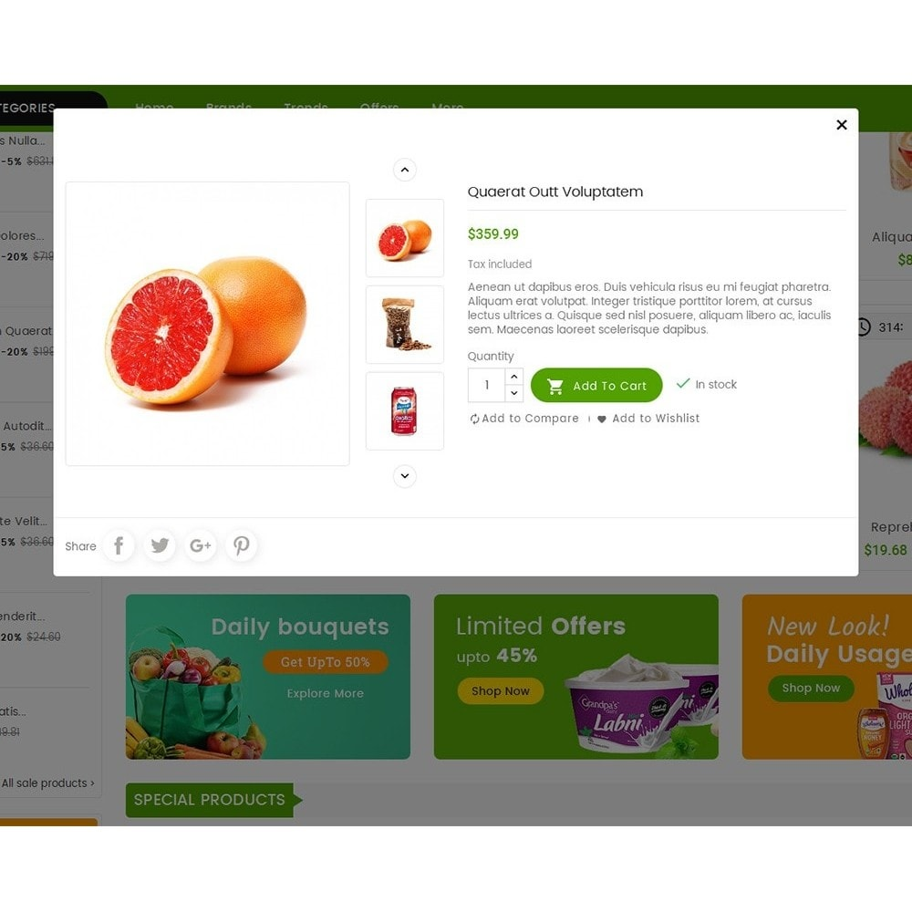 theme - Alimentation & Restauration - Mega Mart Grocery - 9